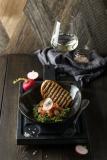 Тар-тар из лосося с гуакамоле  - 550 р.